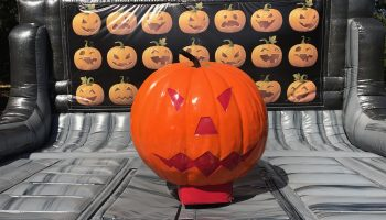 halloween party mechanical pumpkin ride rental