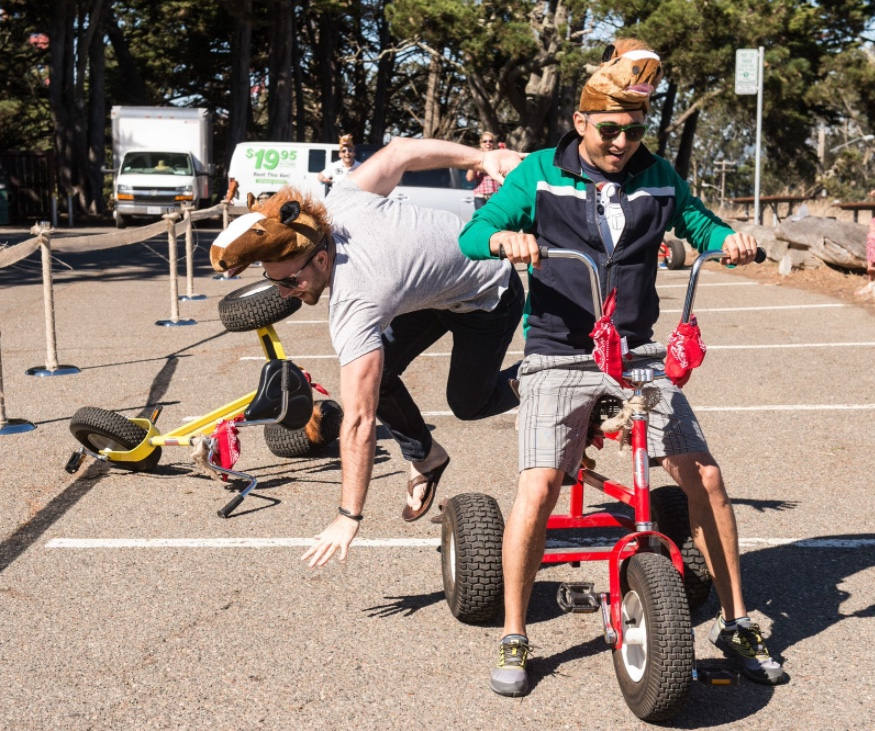 Fast Track Bay Area >> Giant Tricycle Racing Rental - Over 21 Party Rentals