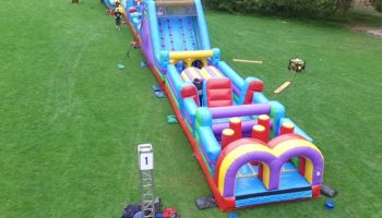 Inflatable Obstacle Course - Bay Area & San Jose