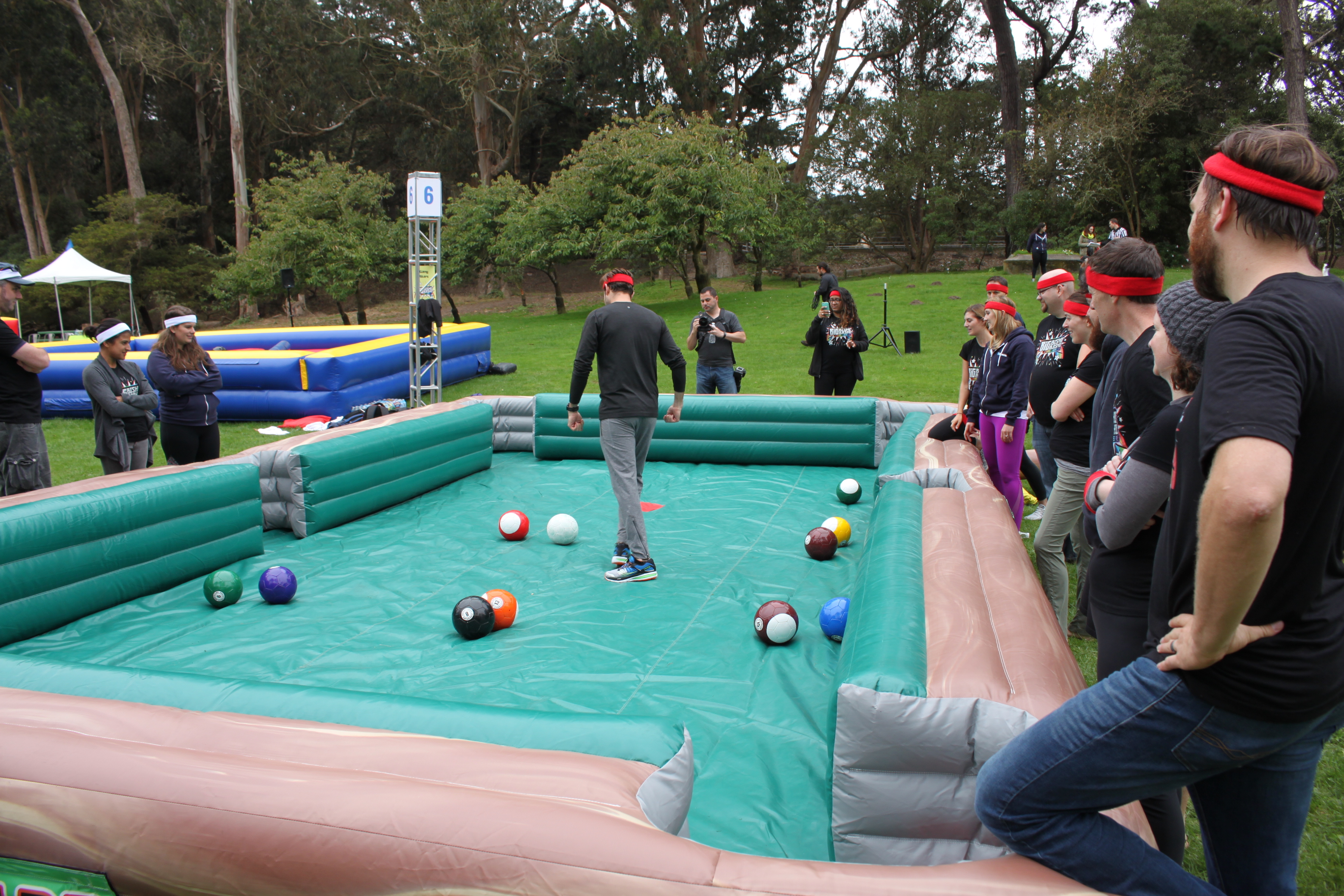 Human Pool Table Rental Bay Area Over Party Rentals - Human pool table
