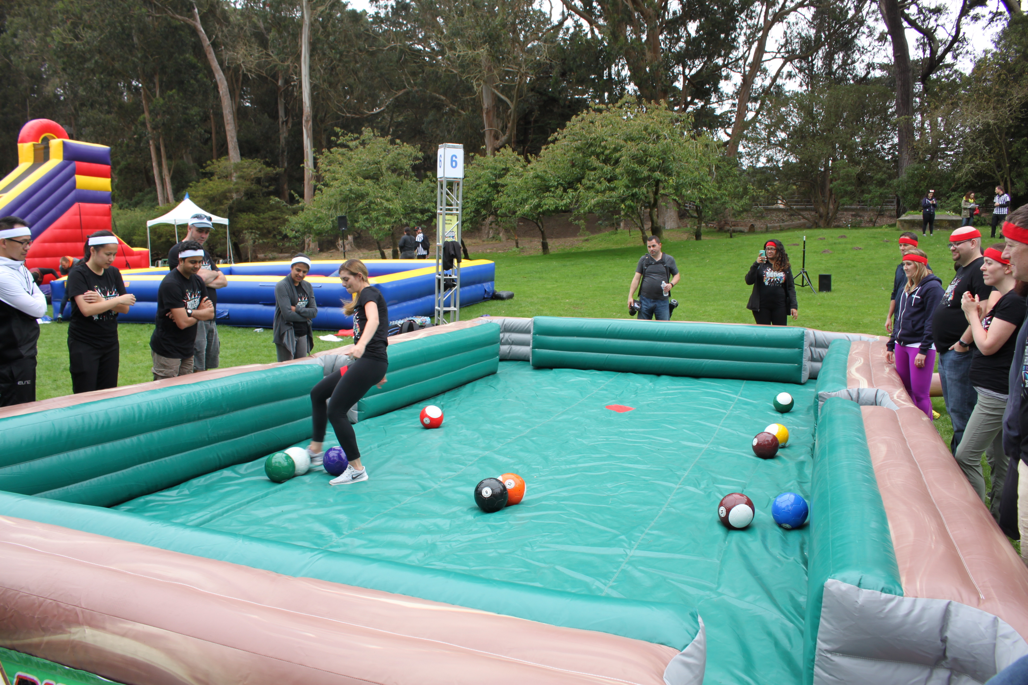 Giant Inflatable Pool Table