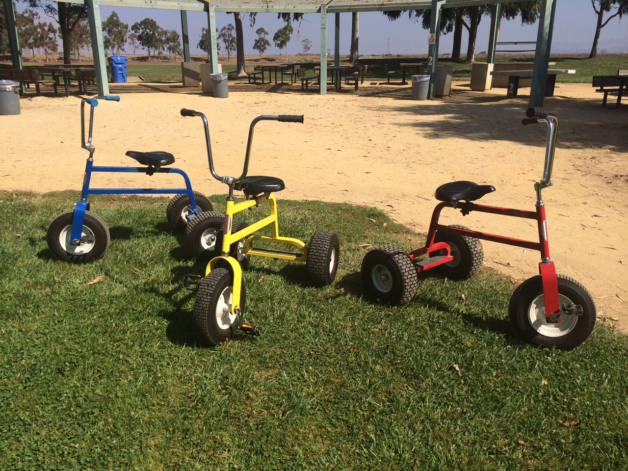 Giant Tricycle Racing Rental Over 21 Party Rentals