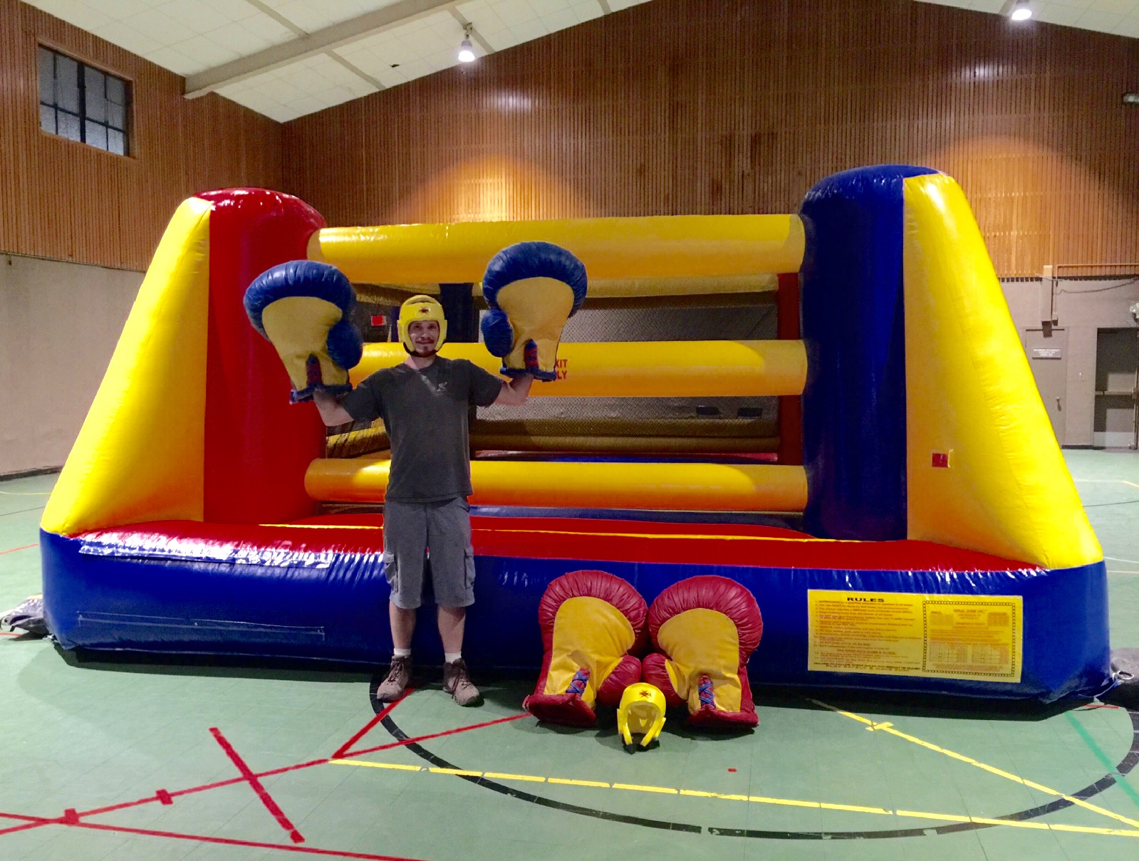 Inflatable Boxing Ring Rental Inflatable Party Rentals Bay Area