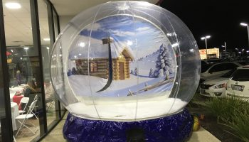 Inflatable Snow Globe Rental