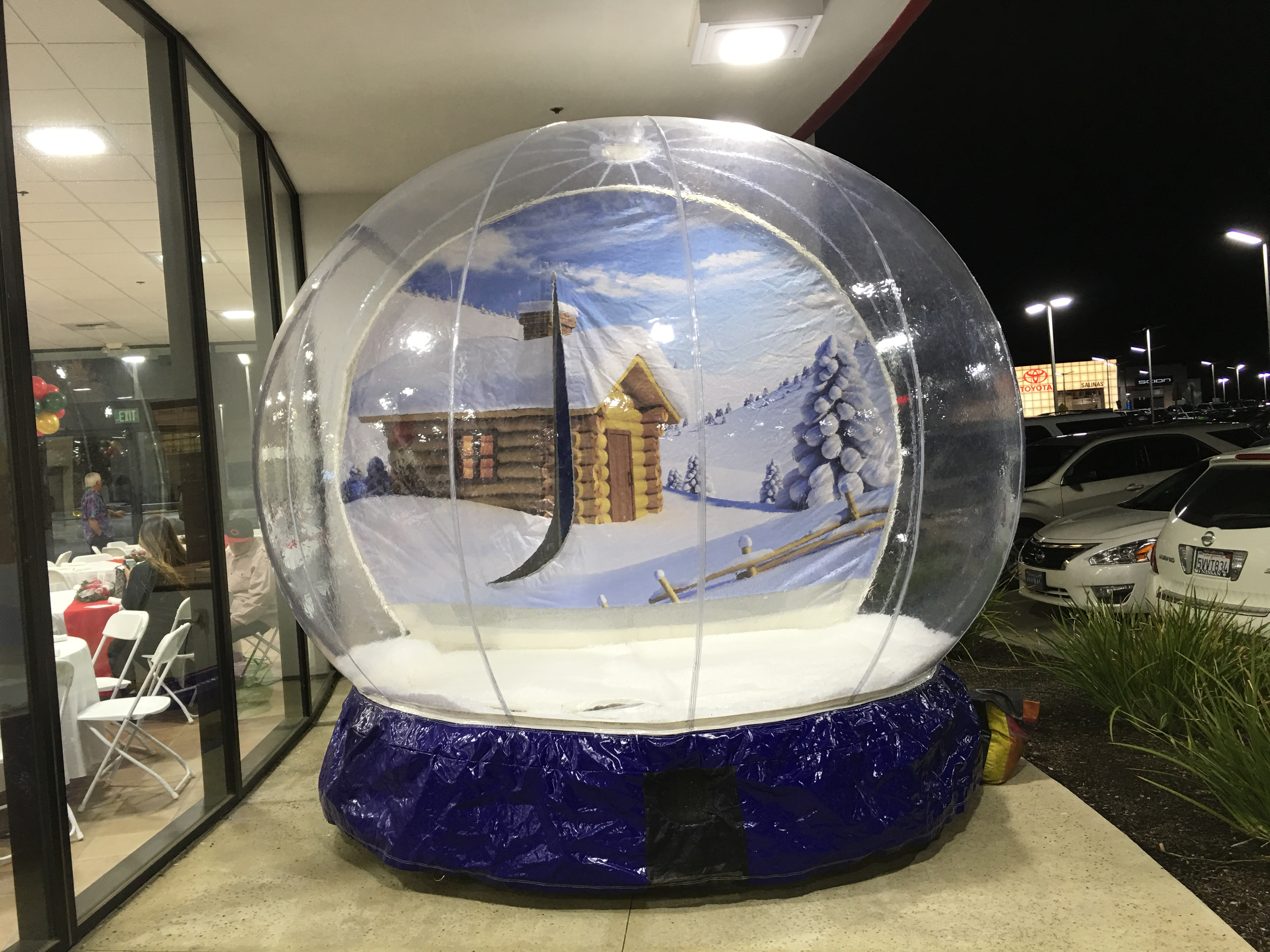 Inflatable Snow Globe Inflatable Party Rentals San