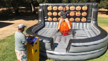Mechanical Bull Halloween Pumpkin Ride Rental