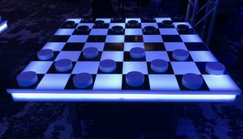 giant checkers led cherckers