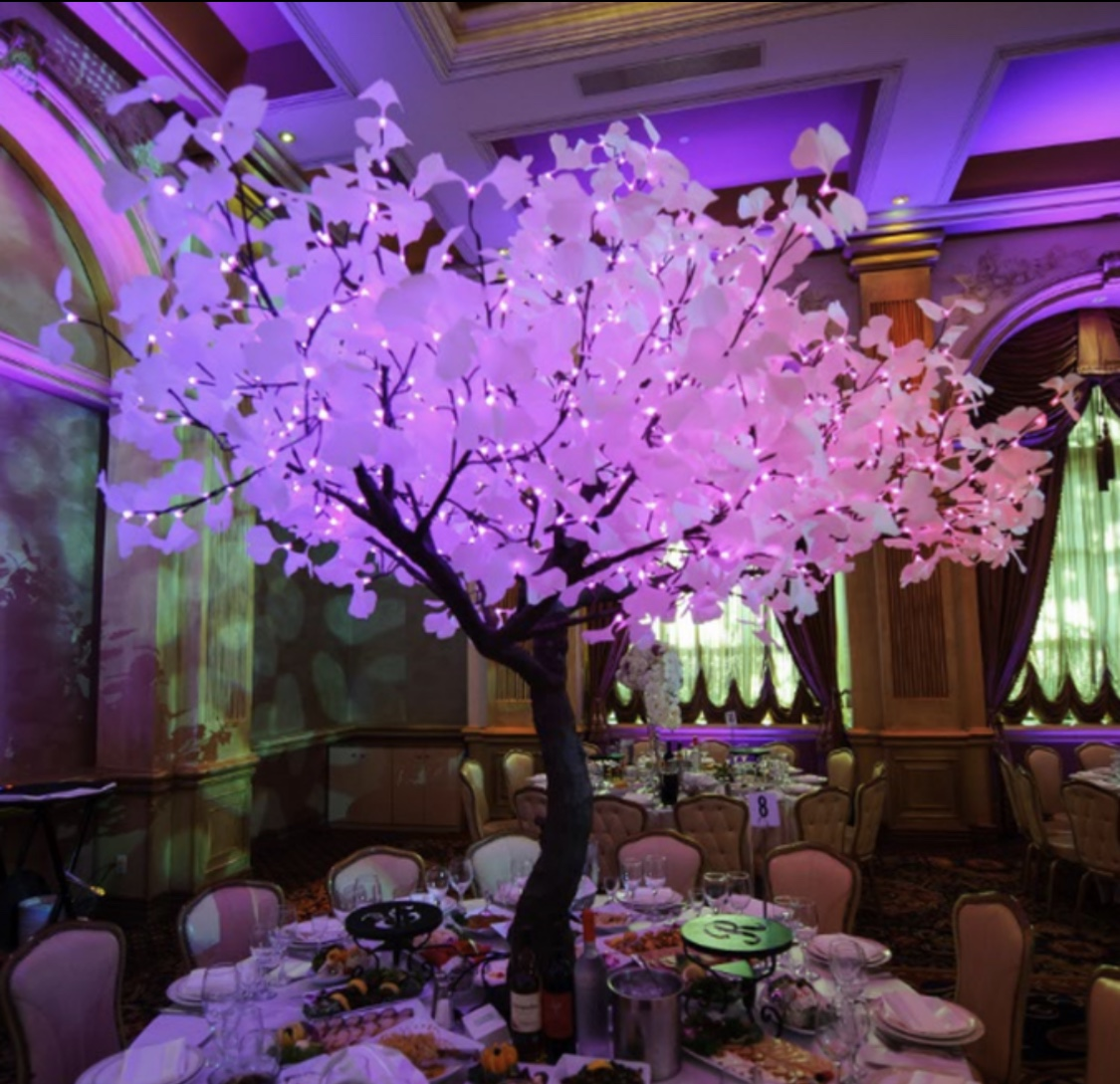 Wedding lighted tree rentals san jose bay area over 21 party rentals elegant lighted led tree rentals junglespirit Image collections