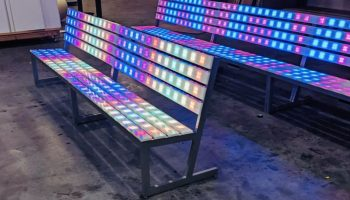 Lighted park bench rentals san francisco