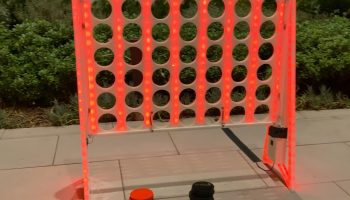 Lighted Connect Four Game Rental