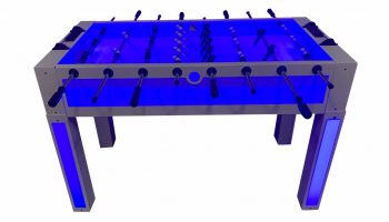 Lighted Foosball Table Game Rental