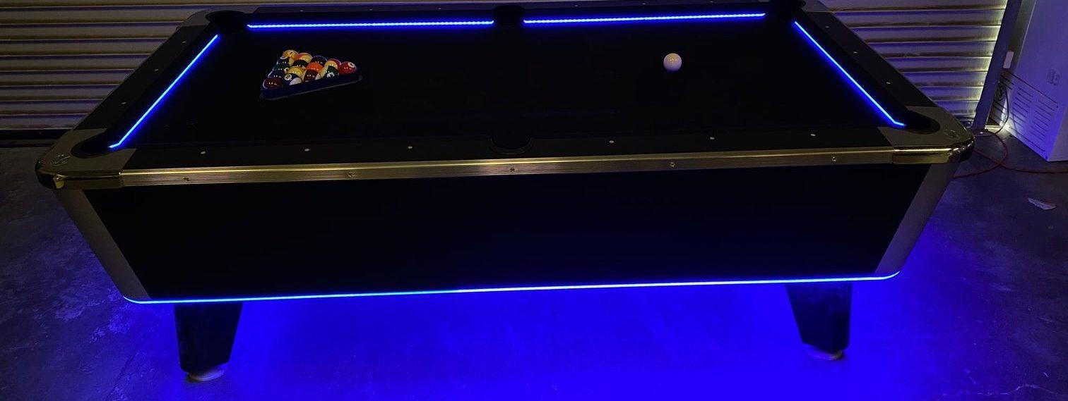 Lighted Pool Table Rental