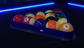 Lighted Pool Table Rental San Jose