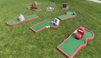 Mini Golf Rental California